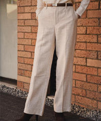agnes b. / plover pattern pants.