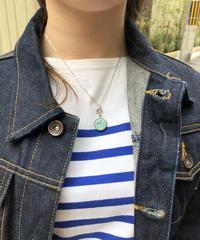 HERMES/vintage corozo necklace. 430016T(U)