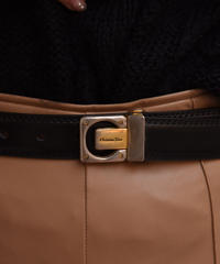 Christian Dior / vintage design belt.(P)