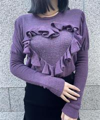 Vivienne Westwood/ vintage  heart motif knit tops.