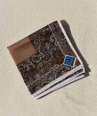 Yves Saint Laurent/vintage paisley pattern  handkerchief.(P)