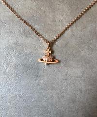 Vivienne Westwood/vintage heart orb motif necklace.