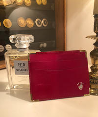 LOREX/vintage leather card case