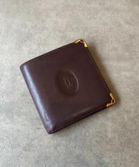 Cartier/mustline vintage  wallet.