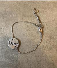 Christian Dior/vintage round Dior motif bracelet.(心斎橋)