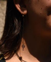 ISABEL MARANT / vintage vintage design long pierce.