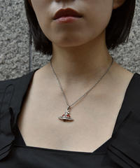 Vivienne Westwood / red heart motif necklace.