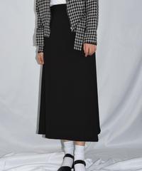 agnes.b/ vintage flare skirt.