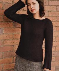 GUCCI / vintage high gauge flare knit.