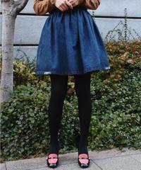 miu miu / vintage  design  denim skirt.
