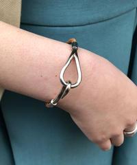 HERMES/ vintage jumbo design bracelet.501014 A