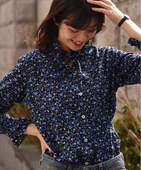 agnes.b /vintage flower pattern blouse.