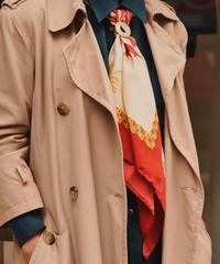 Salvatore Ferragamo / vintage scarf. /