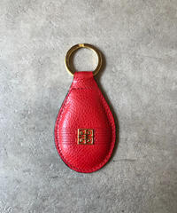 GIVENCHY/ vintage leather  key ring.