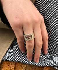 GUCCI/vintage inter rocking  ring.  430025A(S)