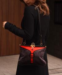 Roberta di camerino / vintage logo design shoulderbag.