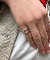 GUCCI/vintage open G ring.  429016H (S)