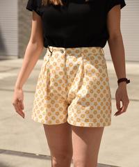 miu miu/star motif short  pants.