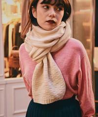 Chloe/ vintage knit  muffler.