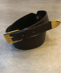 GIVENCHY/logo vintage leather belt.
