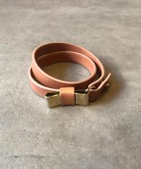 Chloe/ribbon motif 2way  bracelet.