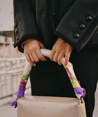 CELINE / vintage mulch design silk scarf.