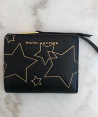 MARC JACOBS/ star design square wallet.