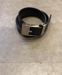 GUCCI /design  silver leather belt