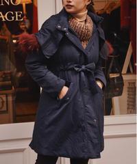 MAX&Co. /vintage design  hooded down coat.