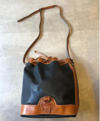 courreges/ vintage  bucket type shoulder bag.(U)