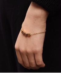 Christian Dior/vintage square logo bracelet.  (U)