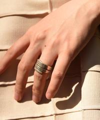 GUCCI/ vintage design silver  ring.