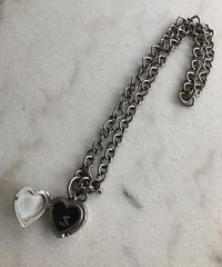 Dolce&Gabbana/silver heart motif  quartz.136