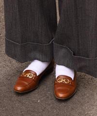 SalvatoreFerragamo/ vintage gantini formal loafer.(6 1/2)