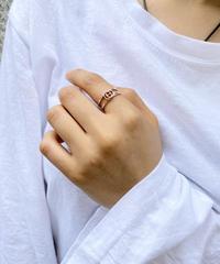GUCCI/open interlocking ring.  511009T (U)