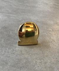 Salvatore Ferragamo /gold gantini scarf ring.(U)