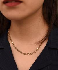 Givenchy / vintage design gold necklace.
