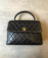 CHANEL/vintage matrasse hand bag.
