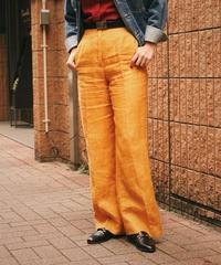 MAX MARA/linen straight pants.