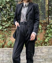 MOSCHINO/ vintage stripe design jacket.