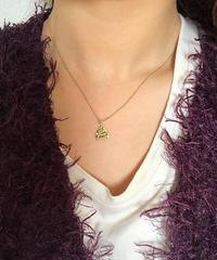 Chloe/vintage letter motif necklace. 504004 A