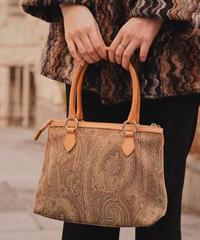ETRO/ vintage paisley soft hand bag