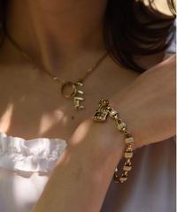 Chloe /vintage key motif design  bracelet.