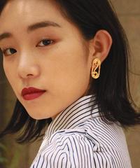 CELINE/vintage gold design earring.511008T (U)