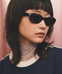 MAX MARA/ vintage square logo design sunglasses.(U)