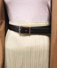 Burberry/vintage leather belt.416006 C