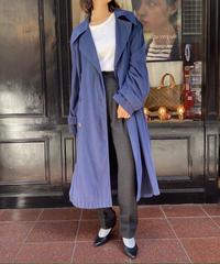 CELINE / vintage big silhouette classic trench coat.