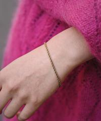 GIVENCHY/ vintage gold design  bracelet.