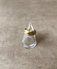 "Cartier/vintage ""trinity""ring."