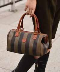 FENDI / vintage pecan design 2way  bag.